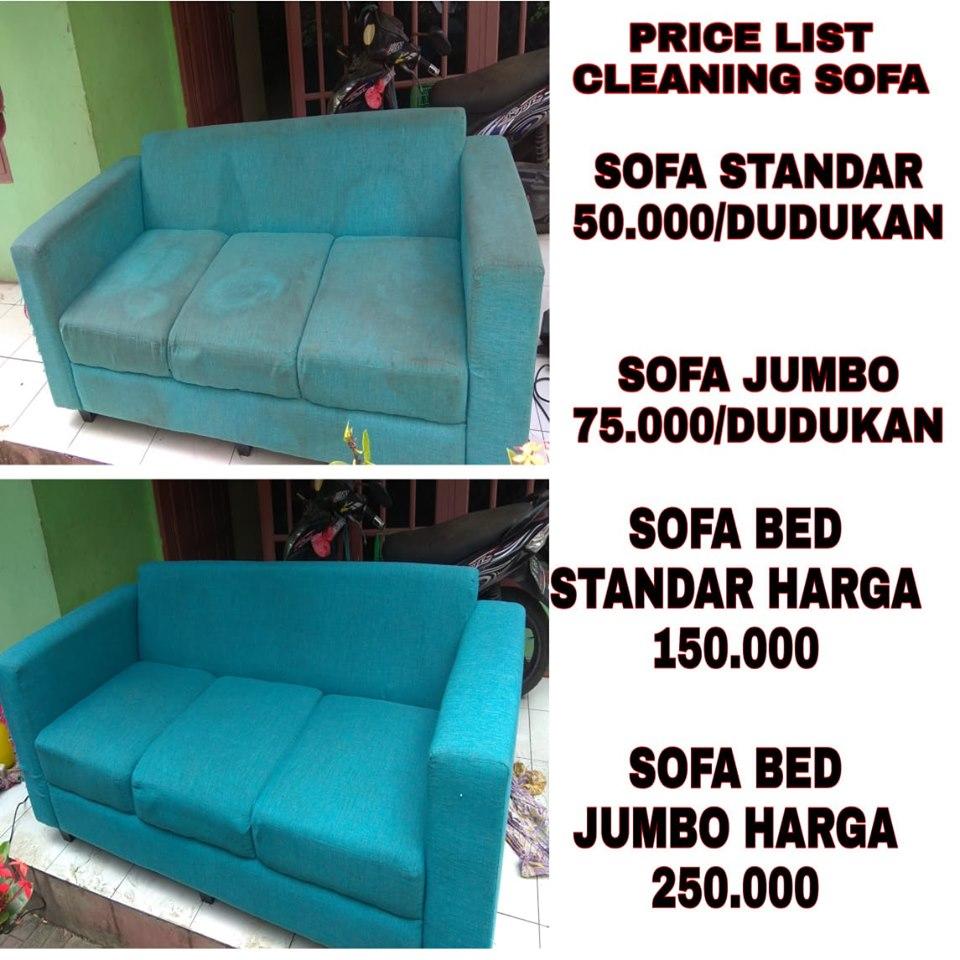 jasa cuci sofa tangerang selatan harga murah pengerjaan cepat dan profesional